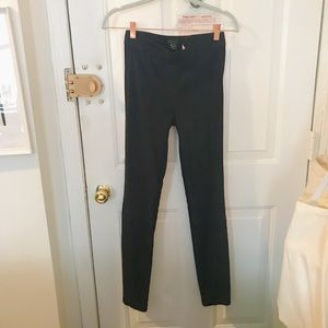 J.Crew Collection navy suede pants